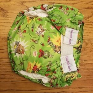 Bumkins grinch all in one diaper